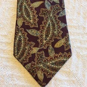 Men's Vintage Burberry Of London Necktie Tie Hand